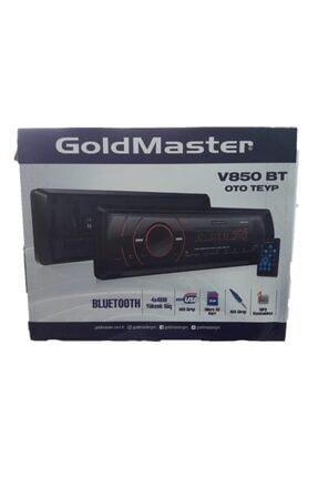 GOLDMASTER V850bt Oto Teyp Bluetooth/usb//aux/radyo Çalar