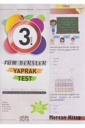 RTY Rota Yayınları 3. Sınıf Tüm Dersler Yaprak Test