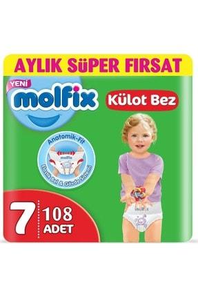 Molfix Külot Bebek Bezi Süper Fırsat Beden:7 (19+kg) Xx Large 108 Adet (3pk*36)
