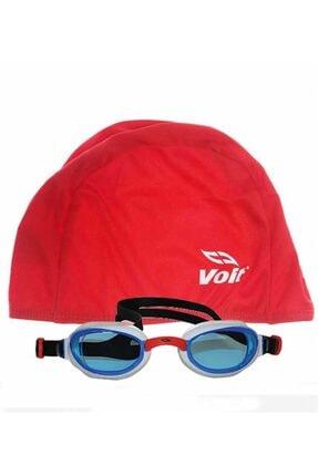 Voit Glider Yüzücü Gözlüğü -byz-krmz+ Bone Kırmızı