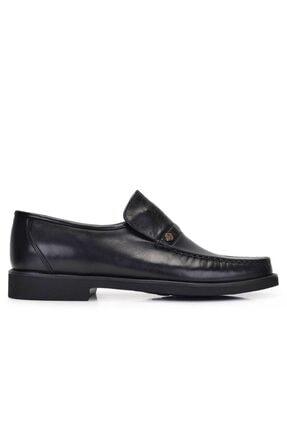 Nevzat Onay Erkek Siyah Hakiki Deri Günlük Loafer Ayakkabı -11279-