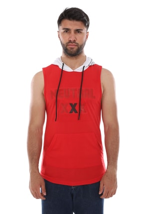 Weyeze Erkek Kırmızı Baskılı Atlet Ab-y43030lns