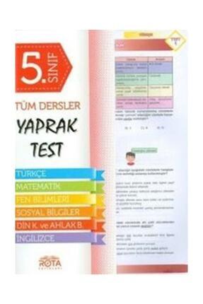 RTY Rota Yayınları 5.Sınıf Tüm Dersler Yaprak Test Yeni