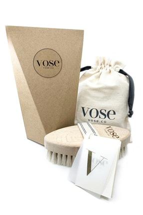 Vose %100 Doğal At Kılı Selülit Fırçası - Vanilla