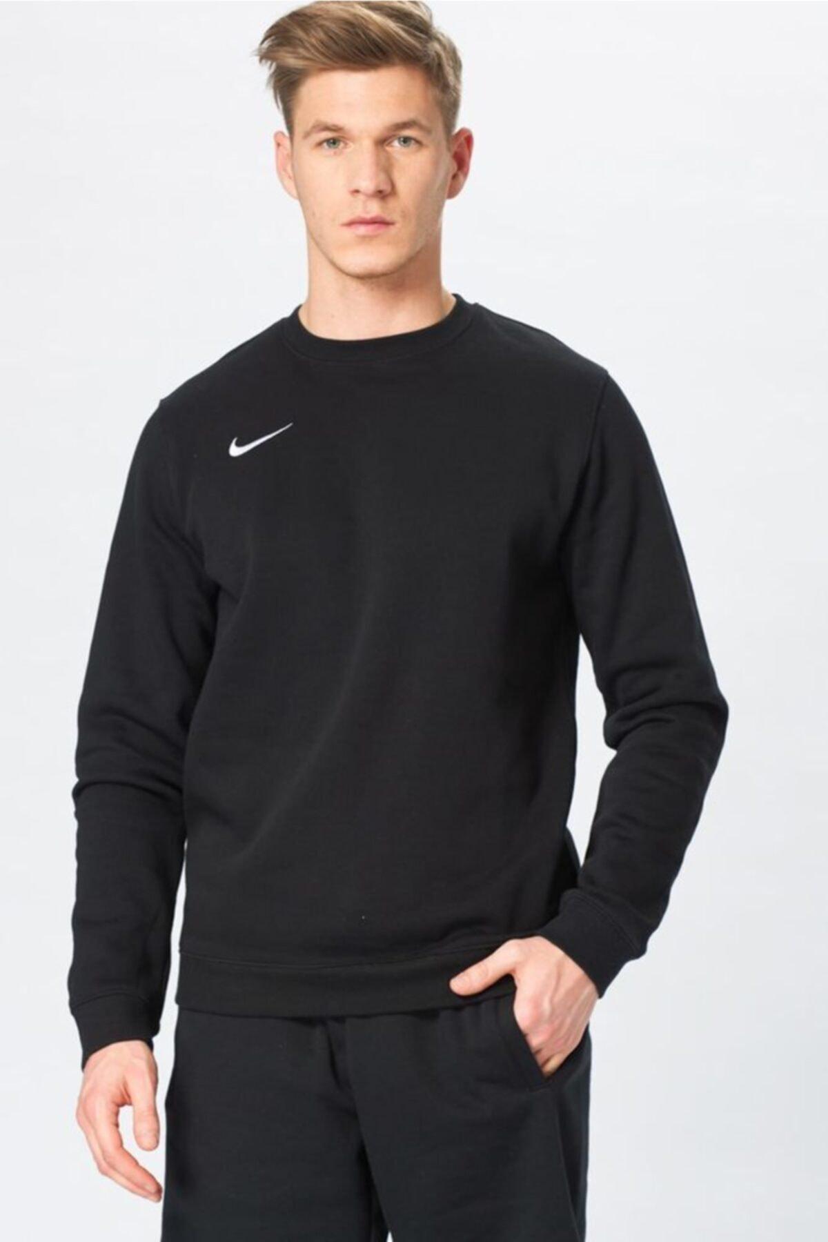 Nike Erkek Siyah Sweatshirt - M Crw Flc Tm Club19 - AJ1466-010 1
