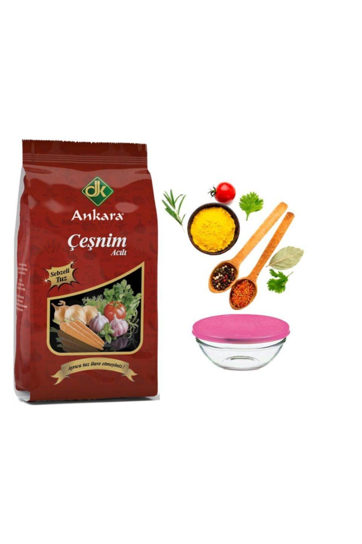 DK ANKARA Ankara Baharat Acılı Sebze Çeşnisi 200 Gr. ( Paşabahçe Saklama Kabı Hediyeli) 1