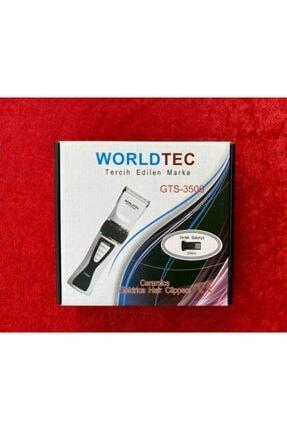Worldtec Gts-3500 Çift Batarya Profesyonel Saç Ve Sakal Kesim Makinası Kuaför Tipi
