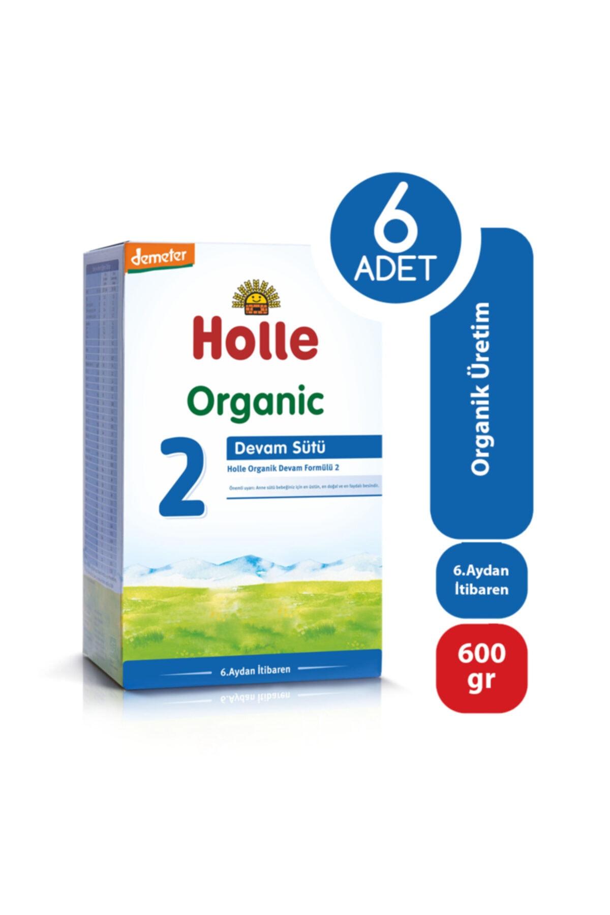 Holle Organik Devam Sütü 2 600 Gr - 6'lı Paket 1