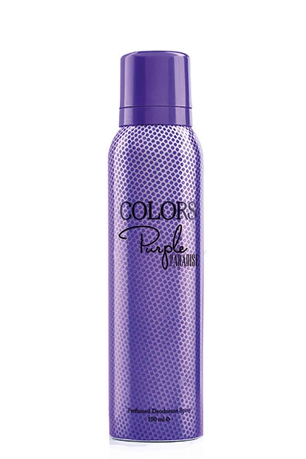 Rebul Colors Purple Bayan Deodorant 150 Ml 1