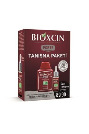 Bioxcin Forte Tanışma Paketi - Şampuan 300 Ml + Serum 30 Ml