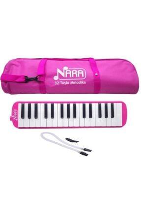Lino Nara 32 Tuş Çantalı Melodika Pembe