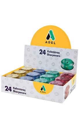 Adel Öğrenci Kalemtraş Plastik 426 0601 (24 Lü Kutu)