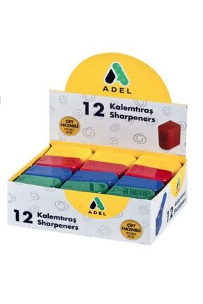 Adel 607 Kalemtıraş 4260607001 (karışık Renk 1 Adet)