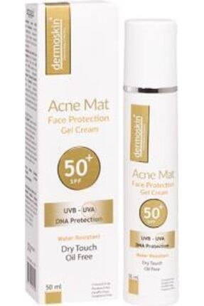 Dermoskin Acne Mat Face Protection Gel Spf 50+ 50 Ml Güneş Kremi