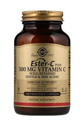 Solgar Ester-c Plus 500 Mg 100 Kapsül 033984010390