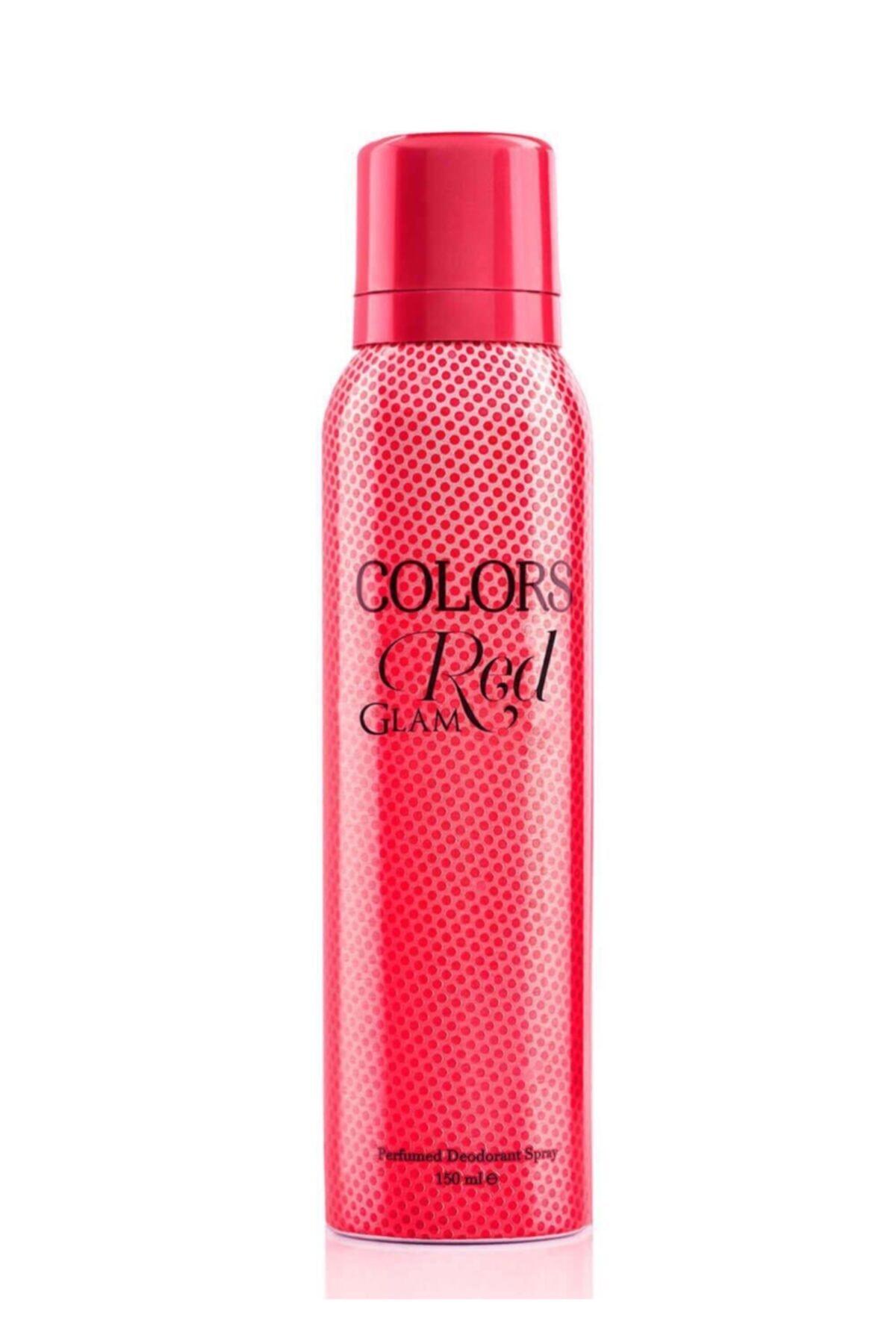 Rebul Colors Red Bayan Deodorant 150 Ml 1