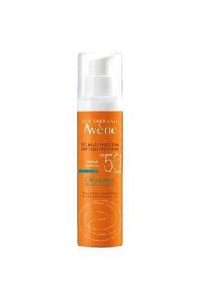 Avene Cleanance Solaire Spf50+ 50ml   Yağlı Ve Akneli Ciltler Için Güneş Kremi