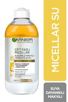 Garnier Micellar Çift Fazlı Kusursuz Makyaj Temizleme Suyu 400 Ml 3600541744486