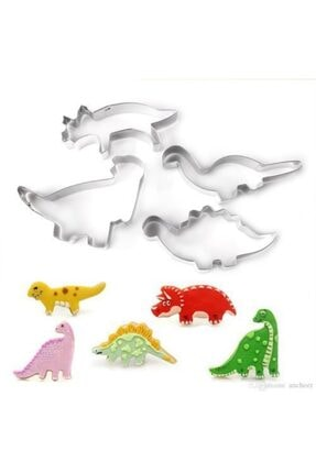 Nar kalıp Narkalıp Dinozor Kurabiye Kalıbı 4 Lü