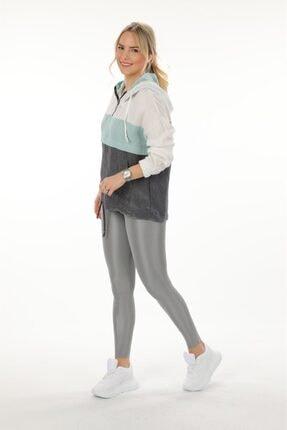 Oblavion Kadın Mint Mint Kapüşonlu Sweatshirt