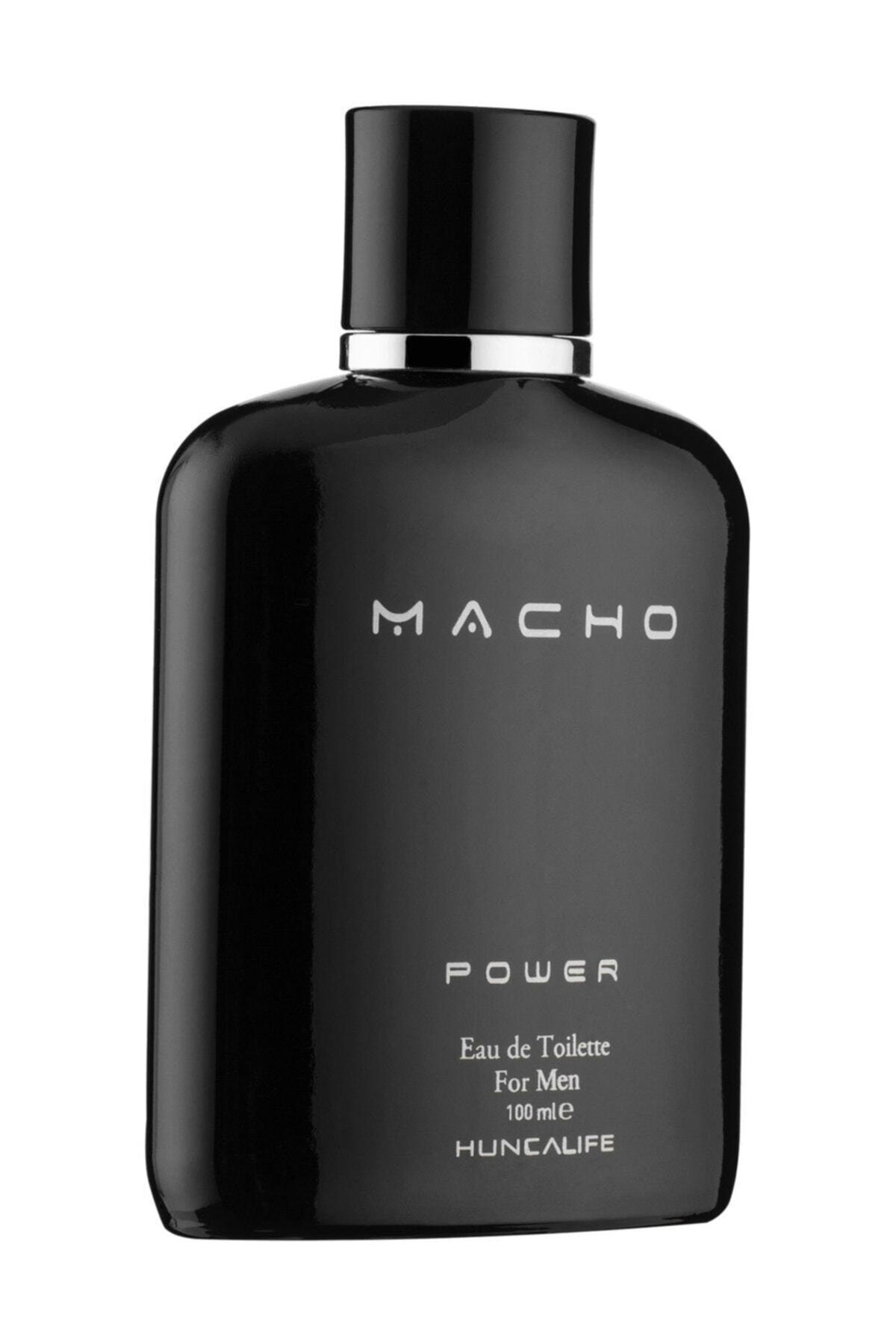 Huncalife Macho Power Edt 100 Ml Erkek Parfümü 8690973701381 1