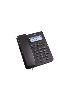 KAREL Tm145 Siyah Kulaklıklı Ekranlı Masa Üstü Telefon