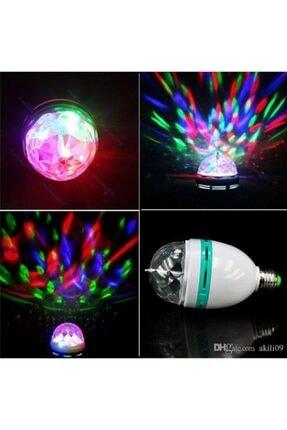 BiTon Toptan Led Döner Başlıklı Disko Topu Ampul Gece Lambası E27 Duy