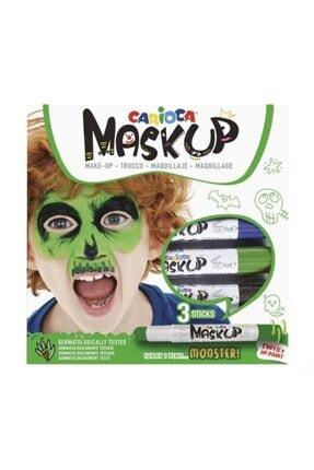 CARIOCA Mask Up Yüz Boyası 3 Renk Monster