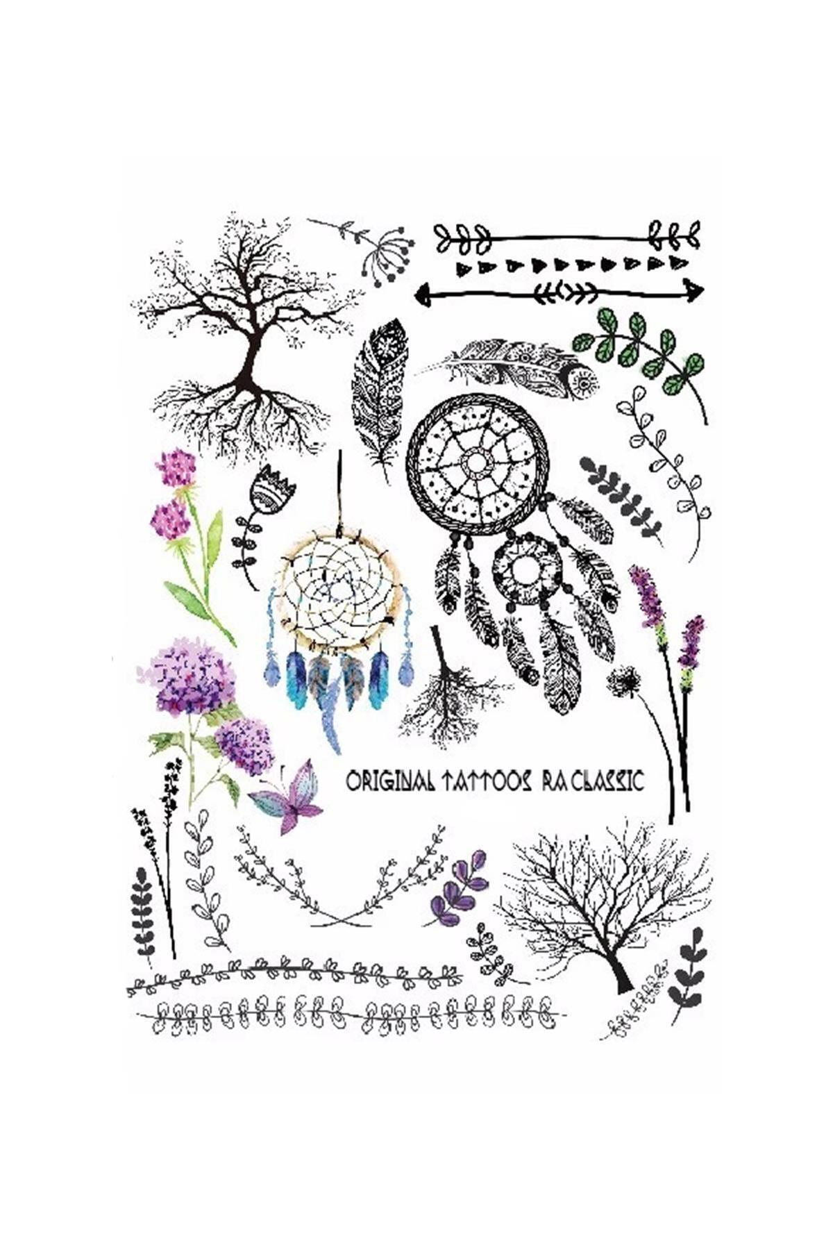 New Obsessions Hyacinth Geçici Dövme 1