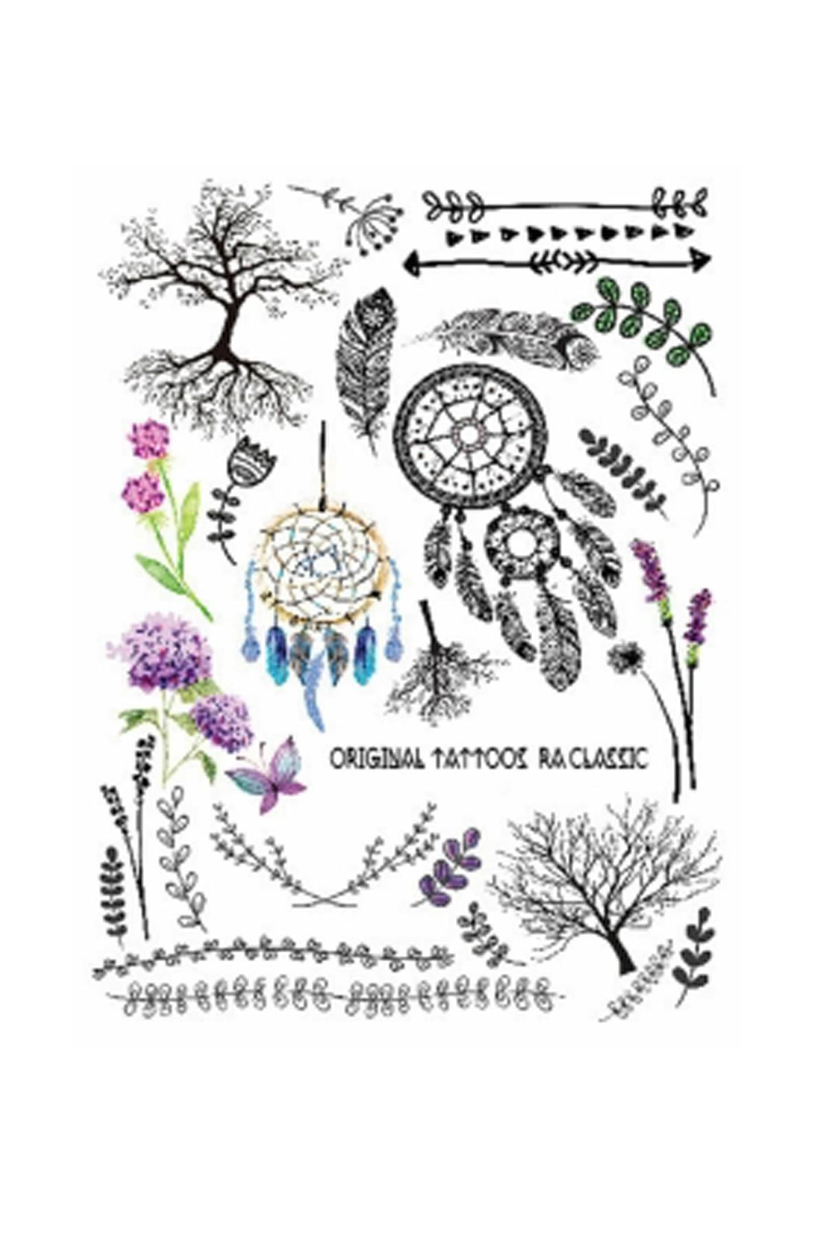 New Obsessions Hyacinth Geçici Dövme 2