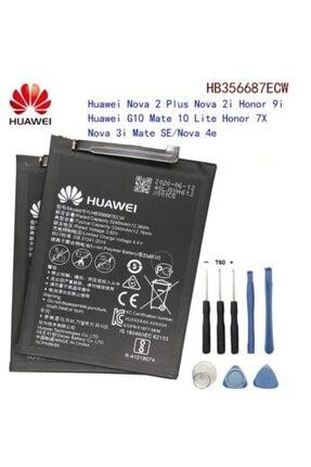 Huawei Mate 10 Lite Batarya Pil + Tamir Seti Hb356687ecw