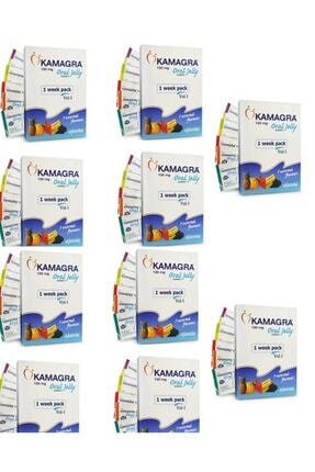 STAG Kamagra Meyveli Jel 10 Adet
