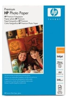 HP Premium Q2519a Parlak Fotoğraf Kagıdı 20 Yaprak A4/210x297mm/240g/m2
