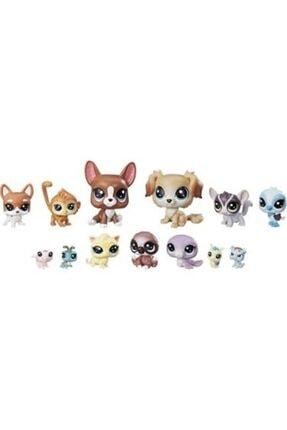 Littlest Pet Shop Miniş Ailesi Oyuncak 13 Parça