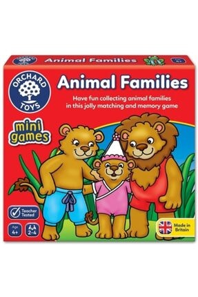 ORCHARD Puzzle Animal Families