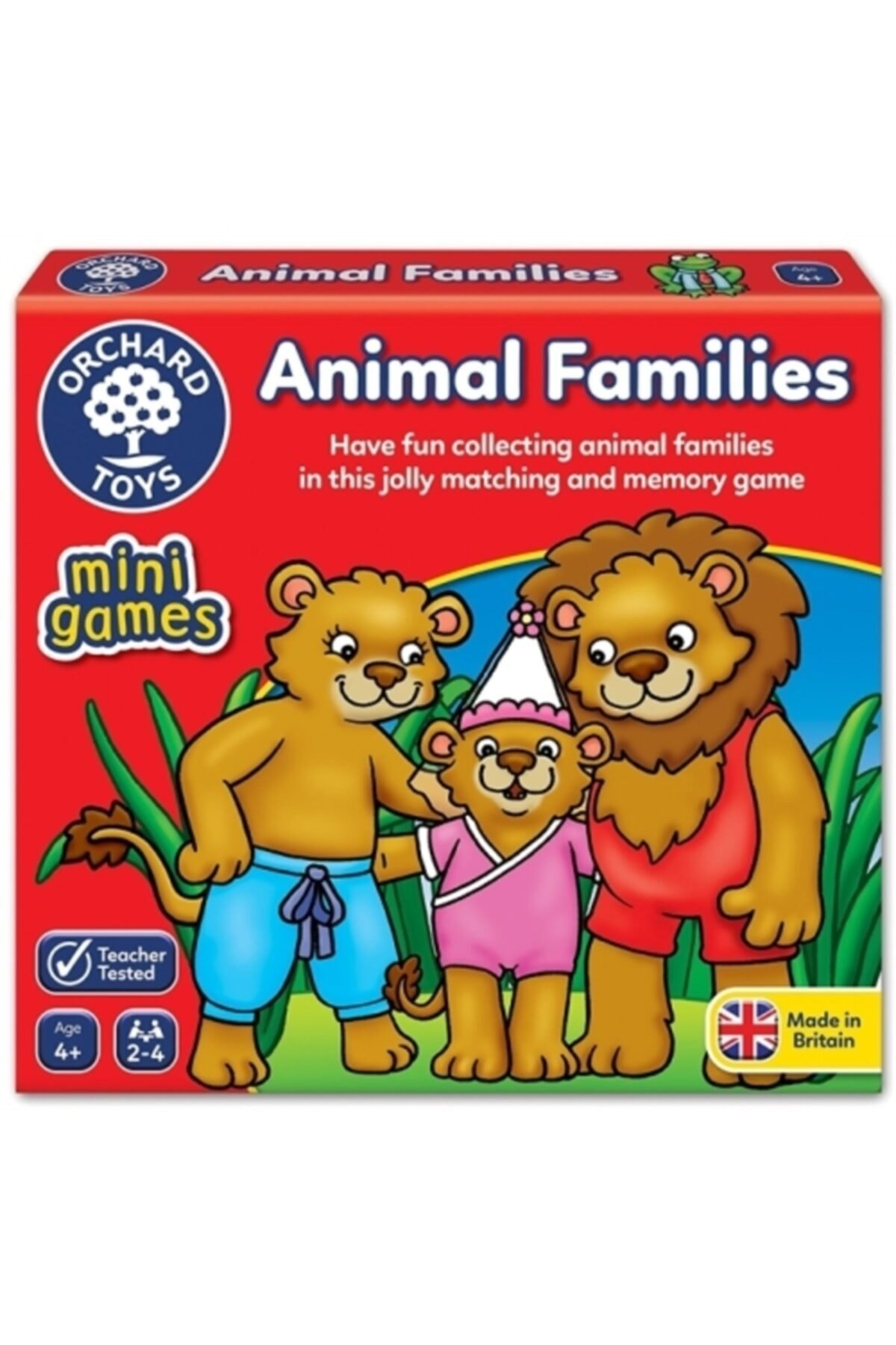 ORCHARD Puzzle Animal Families 1