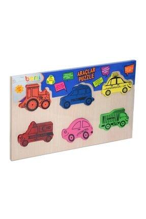 Bemi Toys 1215 Bemi Araçlar Puzzle