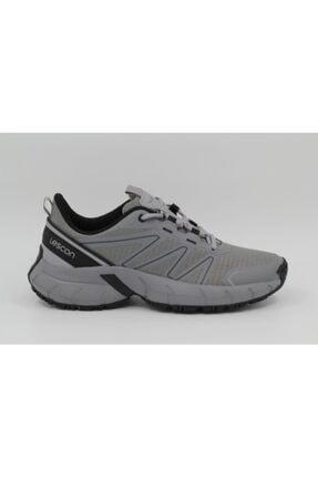 Lescon Unisex Gri Easy Step Drift Spor Ayakkabı