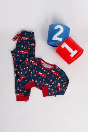 Hays Erkek Çocuk Lacivert Pijama Takımı