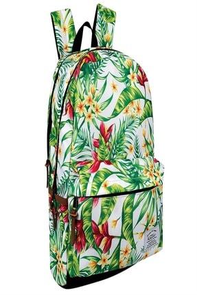 KAUKKO Flowers Sırt Çantası Hawaii& 45006