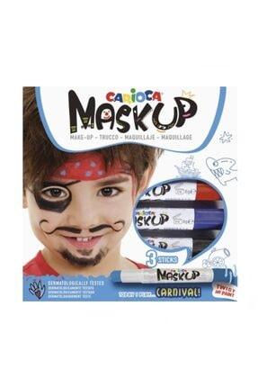 CARIOCA Mask Up Yüz Boyası 3 Renk Carnival