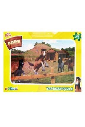 Adel Doru 24 Parça Çocuk Frame Yapboz Puzzle 140155
