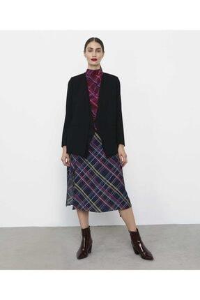İpekyol Kadın Siyah Şifon Mixli Ceket IW6190005075001