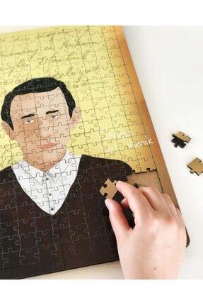 Booktasarım Orhan Veli Kanık 240 Parça Ahşap Puzzle