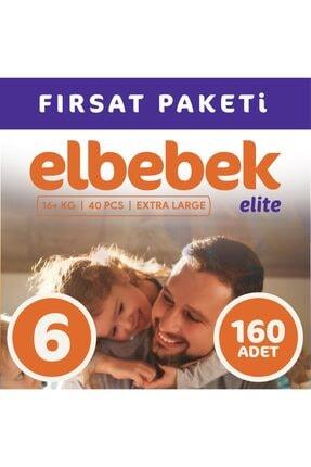 ELBEBEK ELİTE Bebek Bezi 6 Numara X Large 160 Adet