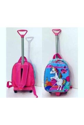 Cebiks Unicorn Çekçekli Okul Çantası