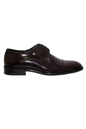 Pierre Cardin Erkek Bordo Deri Ayakkabı