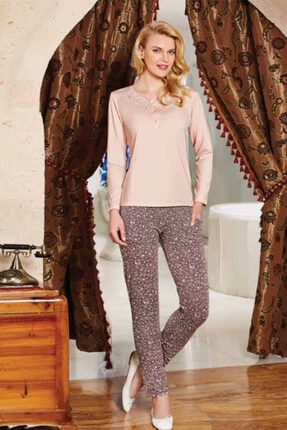 Berrak 380 Bayan Pijama Takımı - Somon