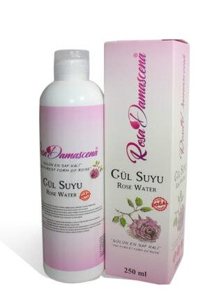 Rosa Damascena Gül Suyu 250 Ml %100 Saf Ve Doğal