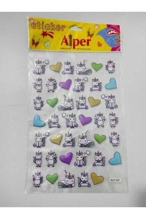 ALPER Unicorn A4 Sticker